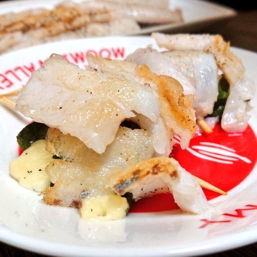 タチウオの大葉チーズロール