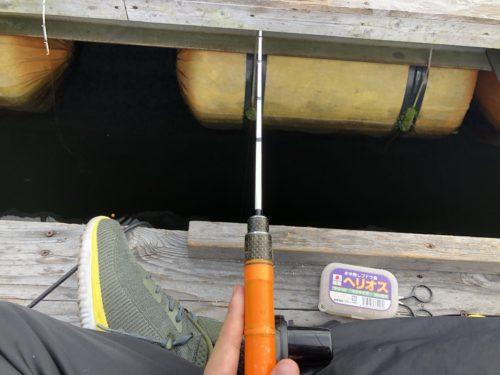 ワカサギ釣り開始